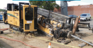 Michigan is investing in its gas infrastructure. Pictured here is a directional bore machine used to lay new gas lines as part of Consumers Energy's Enhanced Infrastructure Replacement Program.