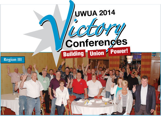 """V"" is for victory: Local leaders joined with national officers in Columbus, OH at the Region III Victory Conference."