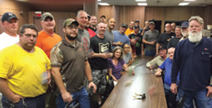 Local 116 members in Ohio are united behind their officers as negotiations for a new contract with AEP are set to begin. In a show of solidarity and strength, union members from multiple bargaining units are coordinating their bargaining with AEP.